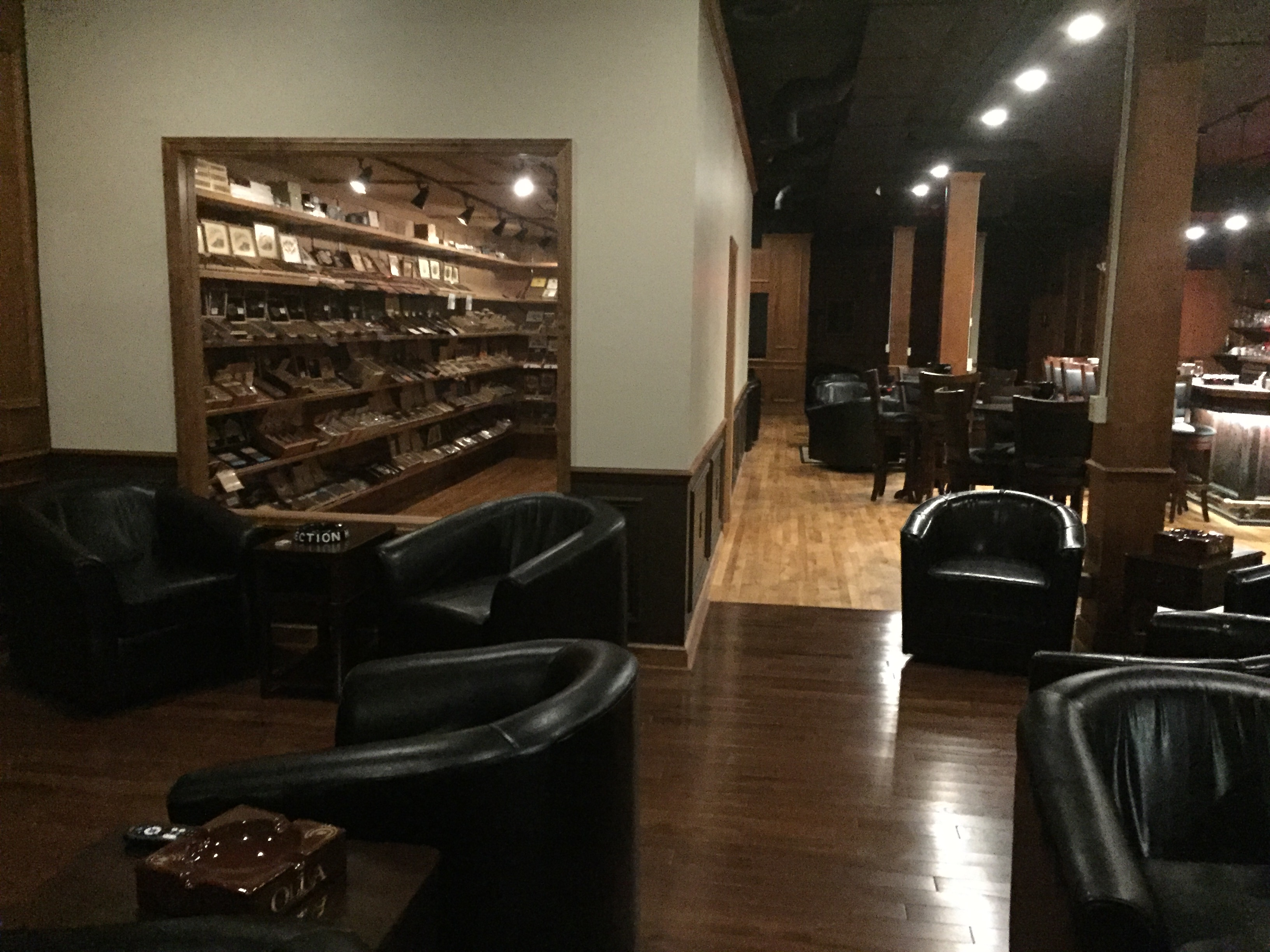 Vintage Cigar Lounge and Club Spacious Lounge